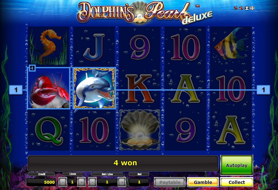 Dolphins Pearl Deluxe™ Slot Machine Game to Play Free in Novomatics Online Casinos